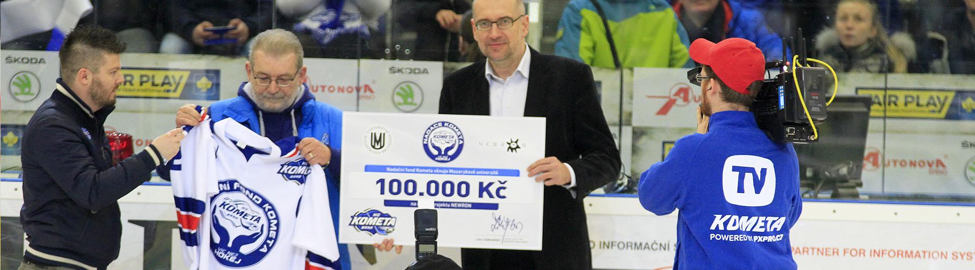 100 000 korun pro NEWRON!